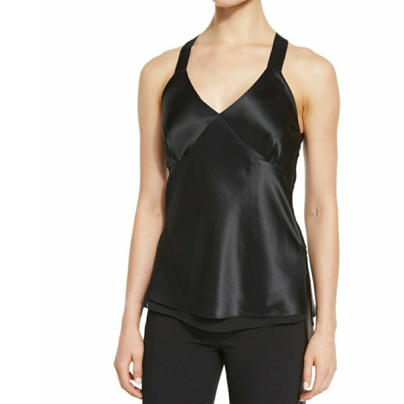 8659c78edbf03c rag   bone Tops - NWOT Rag   Bone Ruby Camisole Black 100% silk sz